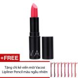 Mua Son Moi Vacosi Italy Lipstick Style Moisture Intense Color No 12 Hot Pink 3 4G Tặng Chi Kẻ Viền Moi Vacosi Lipliner Pencil Mau Sắc Ngẫu Nhien Hang Chinh Hang Vacosi Trực Tuyến