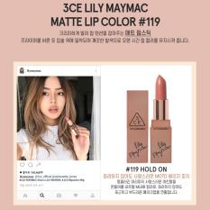 Bán Son Thỏi 3Ce Stylenanda Lily Maymac Matte Lip Color 119 Hold On Vietnam
