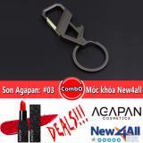 Bán Son Thỏi Agapan 03 Pit A Pat Đỏ Hồng Moc Khoa Đeo Balo New4All Hợp Kim Cao Cấp Agapan Rẻ