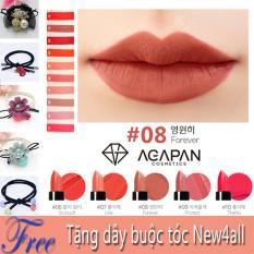 Giá Bán Son Thỏi Agapan Mau 08 Pit A Pat Lipstick Tone Nau Đất Tặng Kem Day Buộc Toc Agapan Nguyên