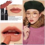 Ôn Tập Son Thỏi Li 3Ce Stylenanda Lip Color Matte 908 Warm Sweet Cam Đất
