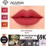 Mua Son Thỏi Li Agapan Pit A Pat 12 Lipstick Tặng Moc Khoa Tinh Nhan Mới