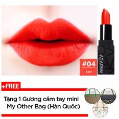 Giá Bán Son Thỏi Li Agapan Pit A Pat Matte Lipstick 3 5G 04 Love Cam Đỏ Tặng 1 Gương Cầm Tay Mini My Other Bag Han Quốc Nguyên