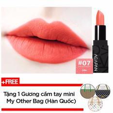 Bán Son Thỏi Li Agapan Pit A Pat Matte Lipstick 3 5G 07 Like Cam Hồng Coral Tặng 1 Gương Cầm Tay Mini My Other Bag Han Quốc Nguyên