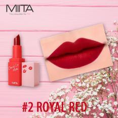 Bán Son Thỏi Li Miita Cherrish Lip Matte Royal Red 02 Mau Đỏ Thẫm Miita Người Bán Sỉ