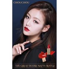 Bán Son Thỏi Li Sang Trọng Bảng Mau Tuyệt Đẹp Chou Chou The Great Desire Matte Rouge 02 Garnet Có Thương Hiệu Nguyên