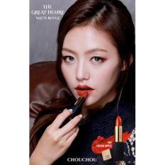 Cửa Hàng Bán Son Thỏi Li Sang Trọng Bảng Mau Tuyệt Đẹp Chou Chou The Great Desire Matte Rouge 07 Cream Apple