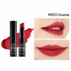 Son Thỏi Sieu Bền Mau A Pieu True Fitting Lipstick Rd02 Amanda Chiết Khấu Hồ Chí Minh