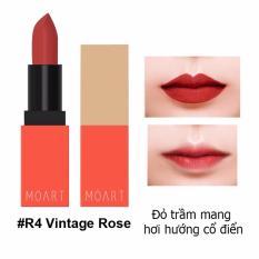 Son Thỏi Sieu Li Chất Đẹp Khong Kho Moi Moart Velvet Lipstick R4 Vintage Rose Đỏ Trầm Mang Hơi Hướng Cổ Điển Moart Rẻ Trong Vietnam