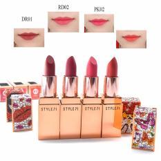 Bán Son Thỏi Sieu Li Style 71 Retro Matte Lipstick Pk02 Munch Tone N*d* Sắc Hồng Dịu Dang Hồng Trực Tuyến Hồ Chí Minh