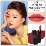 Giá Bán Son Thỏi Sieu Mịn Bền Mau 3Ce Lip Color 803 Classic Rosy Trong Hồ Chí Minh