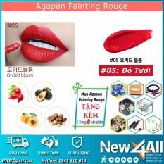 Son Tint Agapan 05 Painting Rouge Lipstick Dạng Kem Lỳ Tặng 01 Mon Qua Ngẫu Nhien Từ New4All Shop Hồ Chí Minh