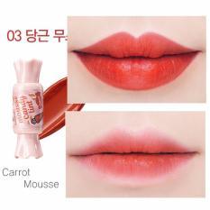 Cửa Hàng Son Tint Hinh Vien Kẹo Cực Đang Yeu The Saem Mousse Candy Tint 03 Carrot Mousse Rẻ Nhất