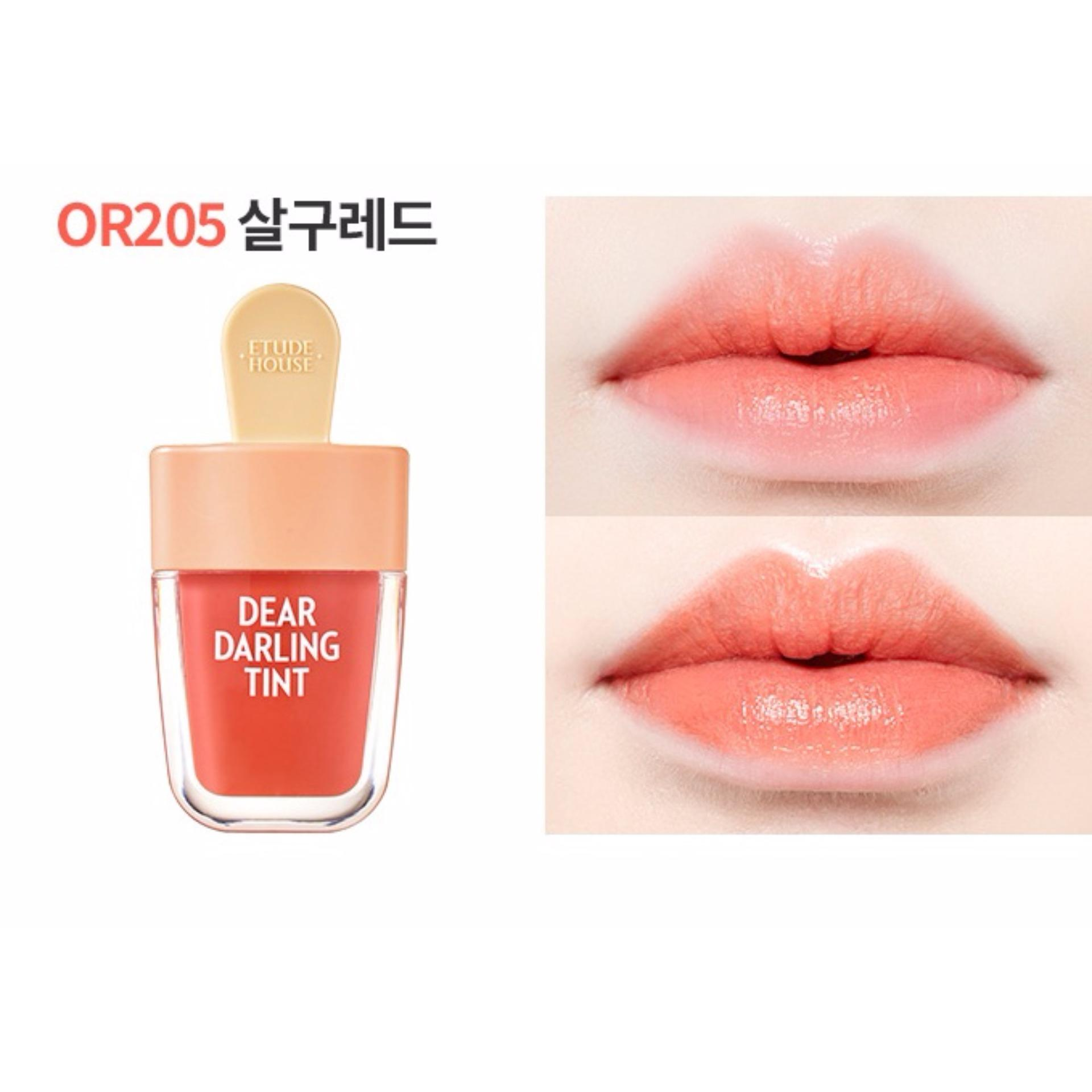 Son Tint Que Kem Etude House Dear Darling Water Gel Tint #or205