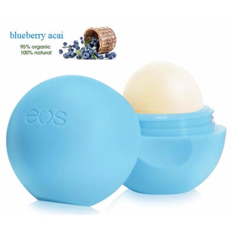 Son trứng dưỡng môi EOS Lip Balm Blueberry Acai 7g