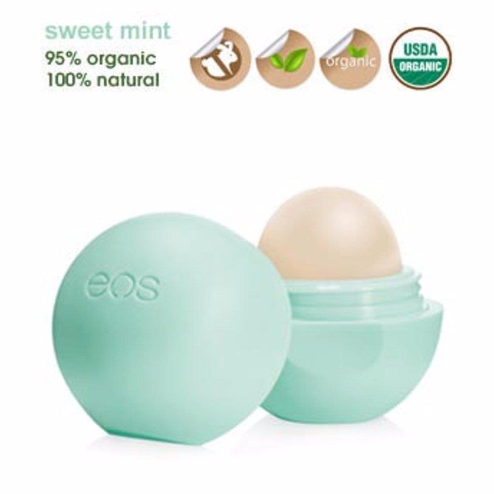 Son trứng dưỡng môi EOS Visibly Soft Lip Balm 7g - Sweet Mint cao cấp