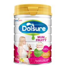 Bán Sữa Bột Dolsure Mum Fruity 900Gr Có Thương Hiệu Nguyên