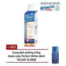 Giá Bán Sữa Chống Nắng Sunplay Skin Aqua Clear White Cc Milk 25G Tặng 1 Dung Dịch Dưỡng Hada Labo Perfect White 40Ml Sunplay Nguyên