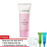 Cửa Hàng Bán Sữa Dưỡng Lam Mềm Da Tay Laneige Soft Hand Lotion 40Ml Tặng Kem Dưỡng Mắt 3G Tinh Chất Chống O Nhiễm 3Ml Sữa Rửa Mặt 4Ml X 5