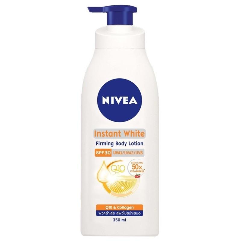 Sữa dưỡng thể dưỡng trắng da Nivea Instant White SPF30 350ml