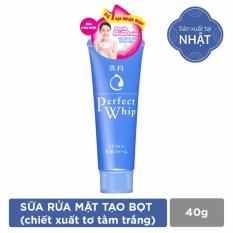 Hình ảnh Sữa rửa mặt chiết xuất tơ tằm trắng Senka Perfect Whip 40g