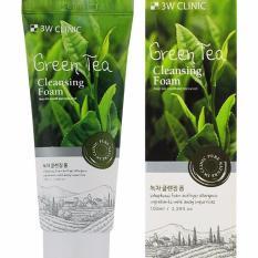 Hình ảnh Sữa Rửa Mặt Chiết Xuất Từ Trà Xanh 3W Clinic Green Tea Foam Cleansing (100ml)