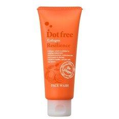 Sữa rửa mặt Collagen tươi Dot free Resilience Face Wash 100g- Nhật Bản chính hãng
