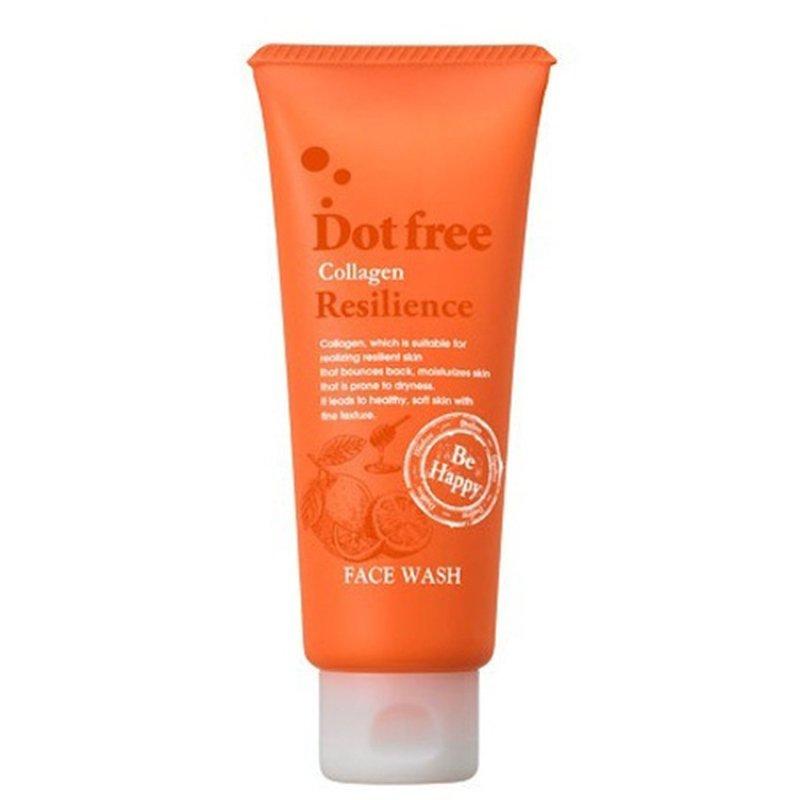 Sữa rửa mặt Collagen tươi Dot free Resilience Face Wash 100g- Nhật Bản cao cấp