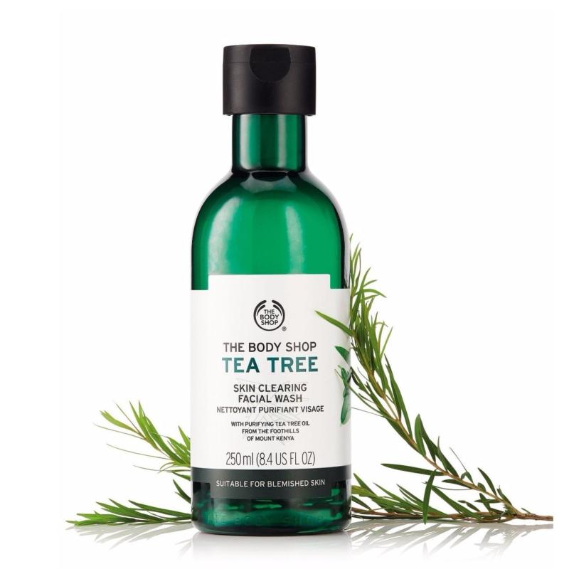 Sữa rửa mặt dạng gel THE BODY SHOP Tea Tree Skin Clearing Facial Wash 250ml giá rẻ