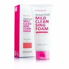 Giá Bán Sữa Rửa Mặt Danh Cho Da Nhạy Cảm Beauskin Sensitive Mild Cleansing Foam 180Ml Beauskin