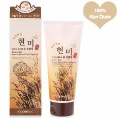 Giá Bán Sữa Rửa Mặt Gạo Phục Hồi Độ Ẩm Tự Nhien Cho Da Foodaholic Brown Rice Foam Cleansing Han Quốc 180Ml Hang Chinh Hang Foodaholic Mới