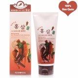 Giá Bán Sữa Rửa Mặt Hồng Sam Se Khit Lỗ Chan Long Foodaholic Red Ginseng Foam Cleansing Han Quốc 180Ml Hang Chinh Hang Nguyên Foodaholic