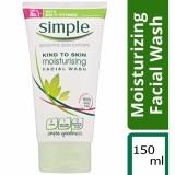 Chiết Khấu Sữa Rửa Mặt Lam Sạch Sau Simple Kind To Skin Moisturising F*c**l Wash 150Ml