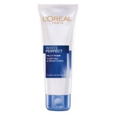 Hình ảnh Sữa rửa mặt làm sáng và mịn da L'ORÉAL White Perfect 100ml