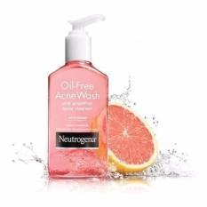 Mua Sữa Rửa Mặt Ngăn Ngừa Va Trị Mụn Neutrogena Oil Free Acne Wash Pink Grapefruit 177Ml Mới