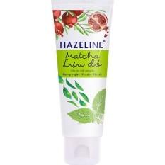 Sữa rửa mặt trắng sáng da Hazeline Matcha Lựu đỏ 50 gram
