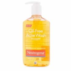 Sữa Rửa Mặt Trị Mụn Neutrogena Oil-Free Acne Wash 269ml nhập khẩu