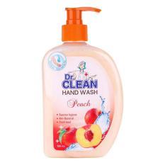 Sữa Rửa Tay Dr. Clean - Đào (500ml) chính hãng