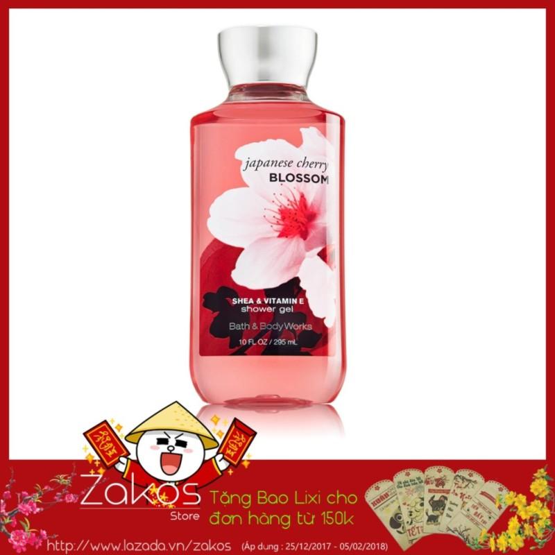 Sữa Tắm Bath & Body Works Japanese Cherry Blossom Shower Gel (295ml) - Aloxinh88 nhập khẩu