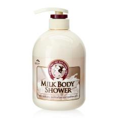Sữa tắm chăm sóc da Cosmocos Milk Body Shower Hàn Quốc 500ml