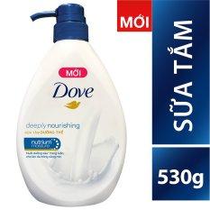 Sữa tắm Dove dưỡng thể với dưỡng chất thấm sâu 530g tốt nhất