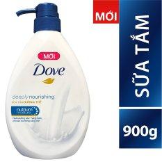 Sữa tắm Dove dưỡng thể với dưỡng chất thấm sâu 900g