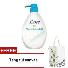 Ôn Tập Sữa Tắm Dove Tẩy Tế Bao Chết 530G Tặng 01 Tui Canvas