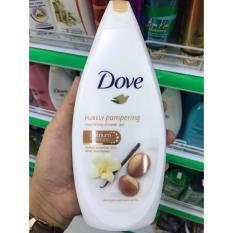 Sữa Tắm Dove Purely Pampering Hương Vanilla 500Ml Của Đức Unilever Chiết Khấu 40