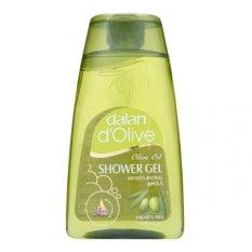 Sữa tắm dưỡng ẩm từ ô liu Dalan D'Olive Olive oil Shower Gel Moisturizing 250ml (Hàng Chính Hãng)
