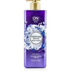 Ôn Tập Sữa Tắm Nước Hoa On The Body Violet Dream Perfume Wash 900Ml Han Quốc