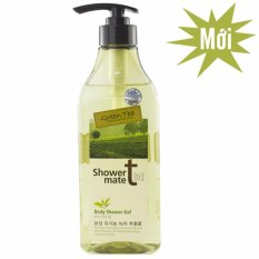 Sữa Tắm Nuoi Dưỡng Lan Da Giup Da Trắng Mịn Showermate Body Nature Green Tea Han Quốc 550Ml Hang Chinh Hang Trong Hà Nội