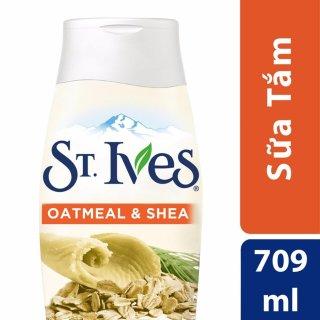 Sữa Tắm St.Ives Yến Mạch Và Bơ 709ml thumbnail