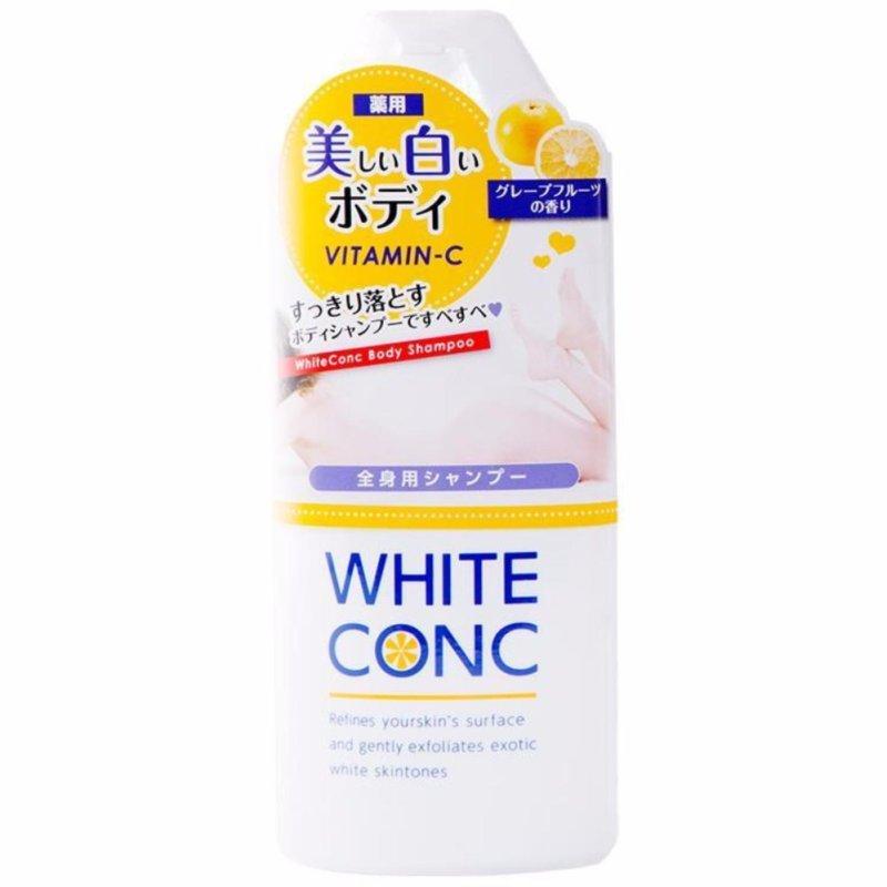 Sữa tắm trắng da toàn thân White Conc Body của Nhật Bản 360ml nhập khẩu