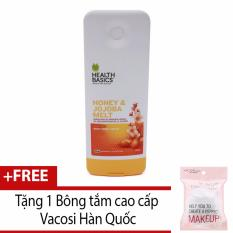 Mã Khuyến Mại Sữa Tắm Từ Mật Ong Va Tinh Dầu Jojoba Health Basics Honey Jojoba Melt Body Wash 400Ml Hang Chinh Hang Tặng 1 Bong Tắm Vacosi Hang Chinh Hang Rẻ